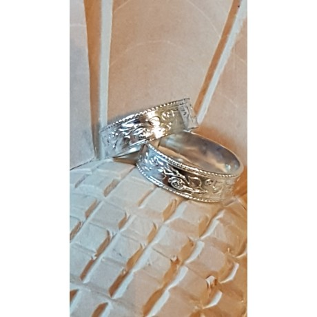 Sterling silver rings Urban Gear, Bijuterii de argint lucrate manual, handmade