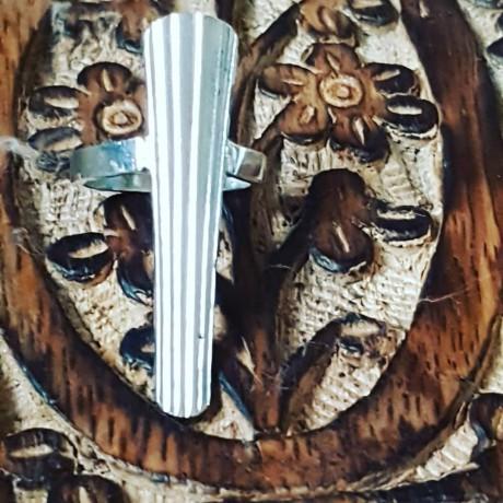 Sterling silver ring Ponytailish , Bijuterii de argint lucrate manual, handmade