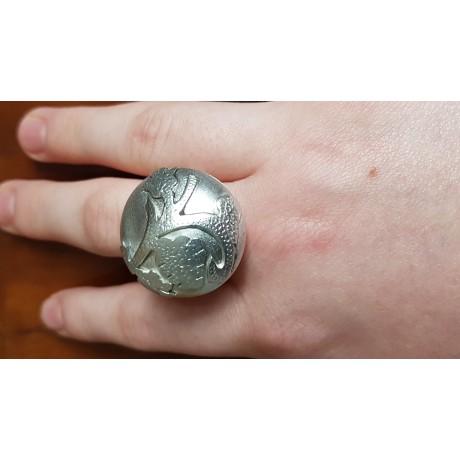 Sterling silver ring Le Petit, Bijuterii de argint lucrate manual, handmade