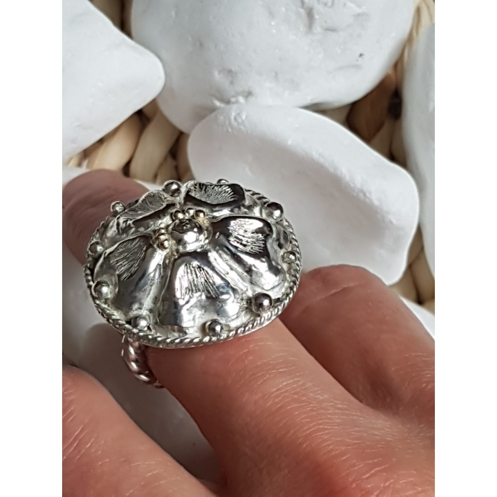 Sterling silver ring FlowerCase