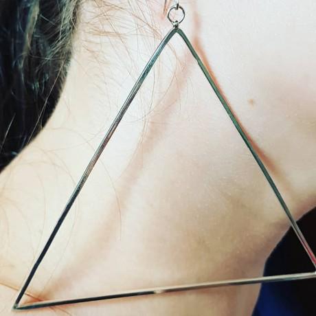 Sterling silver earrings Summer Clinging, Bijuterii de argint lucrate manual, handmade
