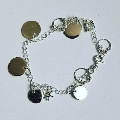 Young Spirit silver Ag925 bracelet, Bijuterii de argint lucrate manual, handmade