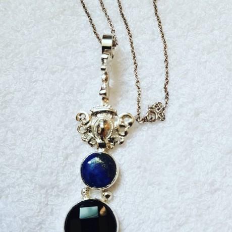 Sterling silver pendant Hot Spot, Bijuterii de argint lucrate manual, handmade