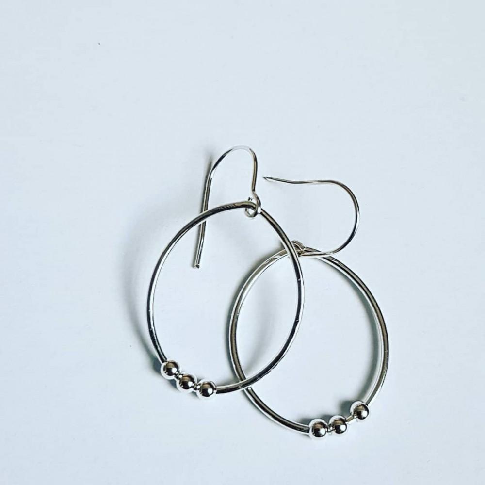 Sterling silver earrings Summer Fuss