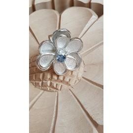 Large Sterling Silver ring Summer Mermaiding, Bijuterii de argint lucrate manual, handmade