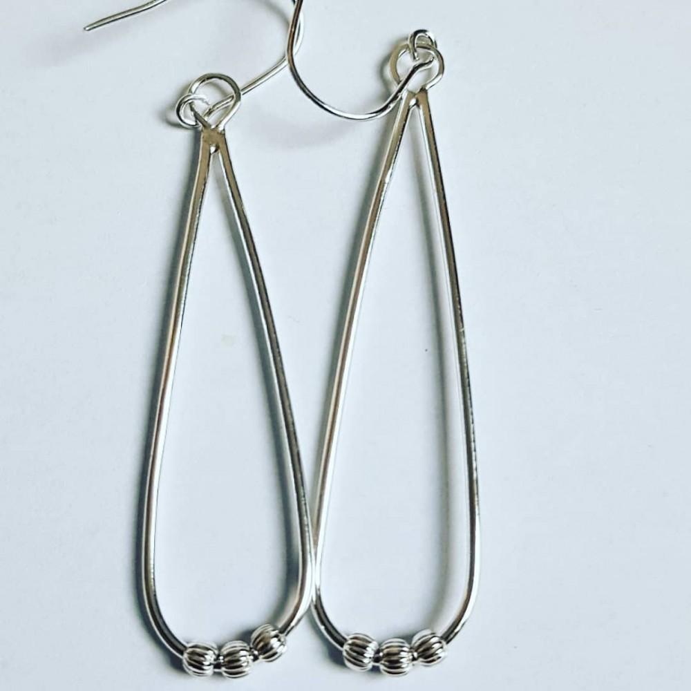 Sterling silver earrings Summer Sways
