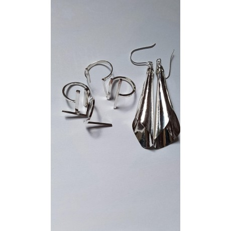Stylish Silver Rings Ag925, Bijuterii de argint lucrate manual, handmade