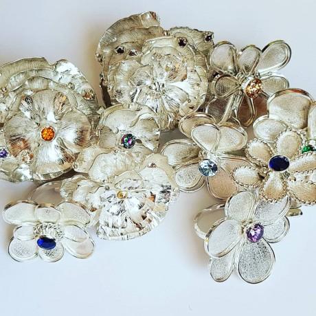 Sterling silver ring Summer Callin', Bijuterii de argint lucrate manual, handmade