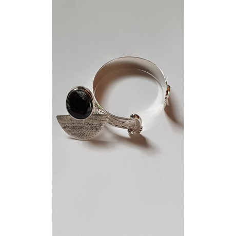 Sterling silver ring with natural dragon 's stone Dragon 's Offices, Bijuterii de argint lucrate manual, handmade