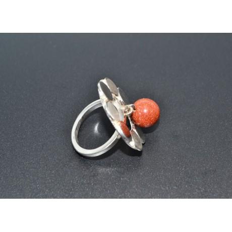 Inel Silver Quiver-Sweet Flickers, Bijuterii de argint lucrate manual, handmade