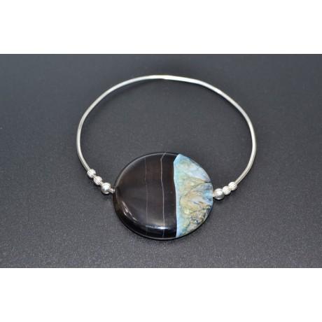 Bratara Private Ilussion, Bijuterii de argint lucrate manual, handmade
