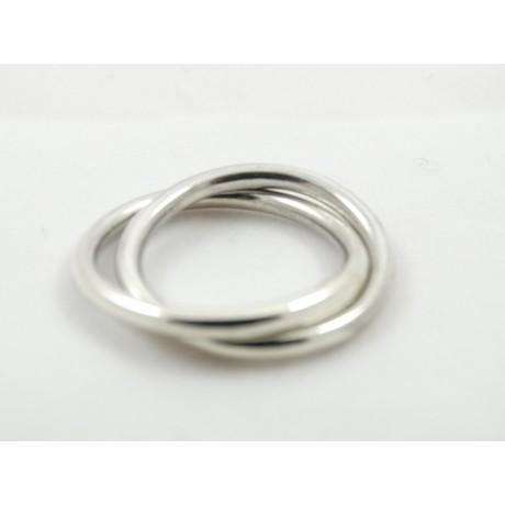 Inel LoveClings, Bijuterii de argint lucrate manual, handmade