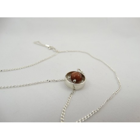 Pandantiv LovelySway, Bijuterii de argint lucrate manual, handmade
