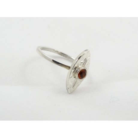 Inel de logodna Piquant, Bijuterii de argint lucrate manual, handmade