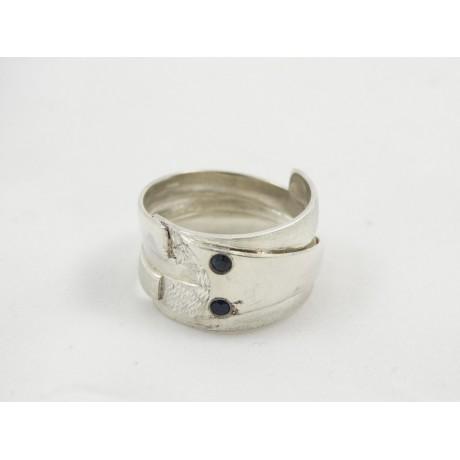 Inel Gust Of Passion, Bijuterii de argint lucrate manual, handmade