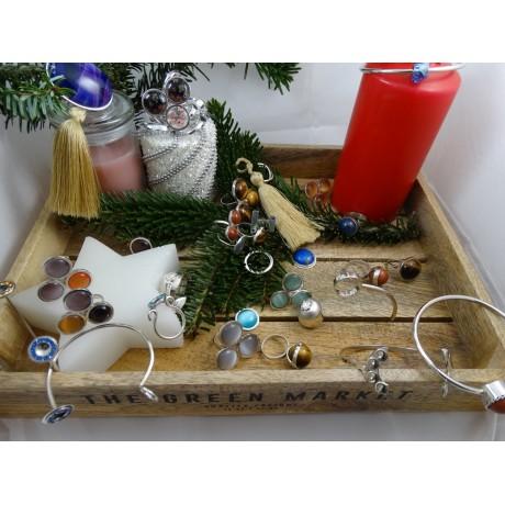 Inel ChristmasLavish, Bijuterii de argint lucrate manual, handmade