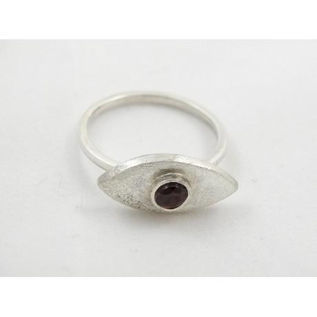 Inel de logodna Eye of Wonder, Bijuterii de argint lucrate manual, handmade