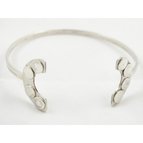 Bratara Silver Crescent, Bijuterii de argint lucrate manual, handmade