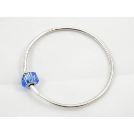 Bratara BlueFire, Bijuterii de argint lucrate manual, handmade