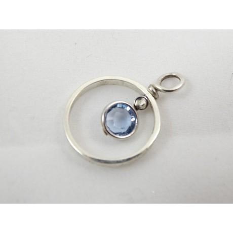 Pandantiv AquaMemory, Bijuterii de argint lucrate manual, handmade