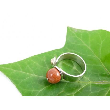 Sterling silver engagement ring Love Crib, Bijuterii de argint lucrate manual, handmade