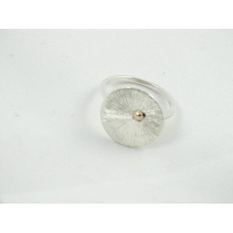 Sterling silver engagement ring LoveMap, Bijuterii de argint lucrate manual, handmade