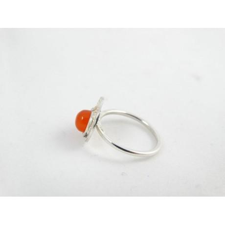 Sterling silver engagement ring LoveLumps, Bijuterii de argint lucrate manual, handmade