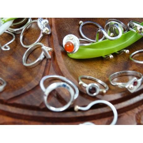 Sterling silver engagement ring TenderCrush, Bijuterii de argint lucrate manual, handmade