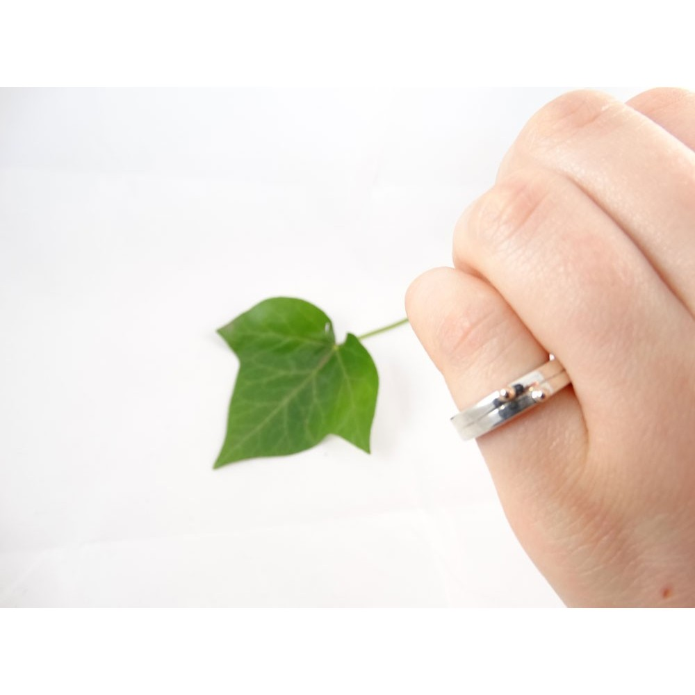 Sterling silver engagement ring Sweetness