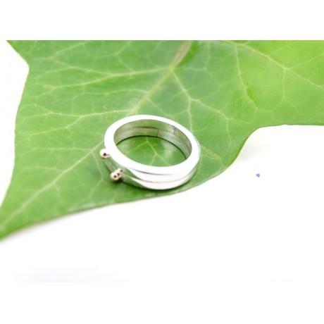 Sterling silver engagement ring Sweetness, Bijuterii de argint lucrate manual, handmade