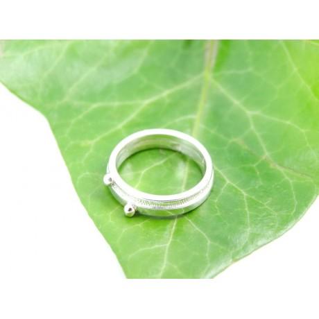 Sterling silver engagement ring Love Witness, Bijuterii de argint lucrate manual, handmade