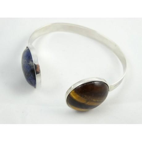 Sterling silver bracelet LovePlayground, Bijuterii de argint lucrate manual, handmade