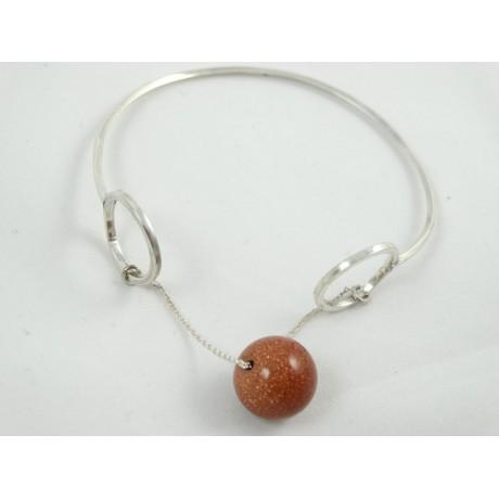 Sterling silver bracelet StraightGlow brings out Addiction , Bijuterii de argint lucrate manual, handmade