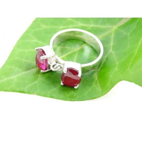 Sterling silver engagement ring LOveAbode, Bijuterii de argint lucrate manual, handmade