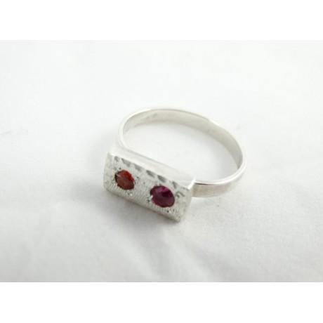 Sterling silver engagement ring Love Instinct, Bijuterii de argint lucrate manual, handmade