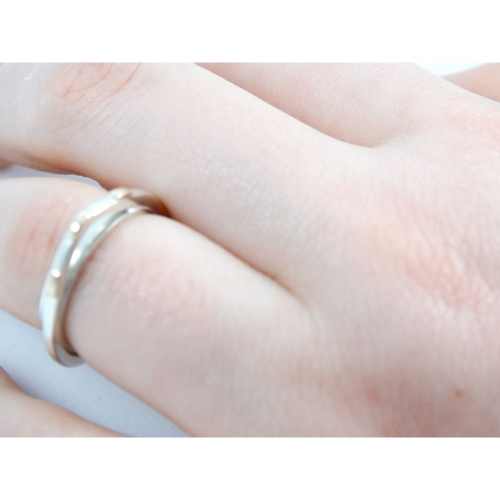 Sterling silver engagement ring Climax