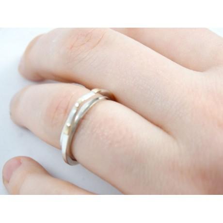 Sterling silver engagement ring Climax, Bijuterii de argint lucrate manual, handmade