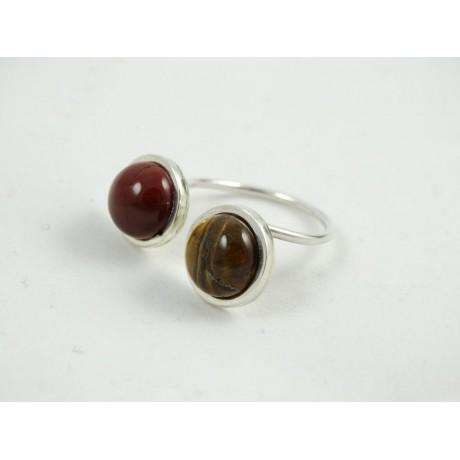 Sterling silver ring Intenso, Bijuterii de argint lucrate manual, handmade