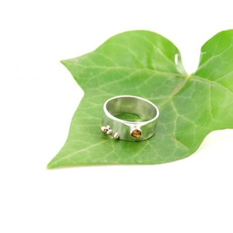 Sterling silver engagement ring LoveTurf, Bijuterii de argint lucrate manual, handmade