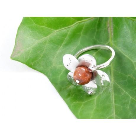 Sterling silver engagement ring Love Thrives, Bijuterii de argint lucrate manual, handmade
