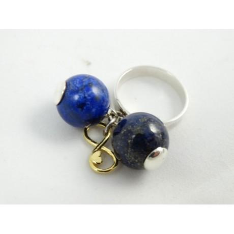 Sterling silver ring Hooked on You, Bijuterii de argint lucrate manual, handmade
