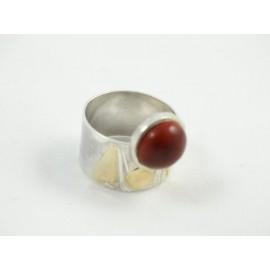 Sterling silver ring CrimsonLove