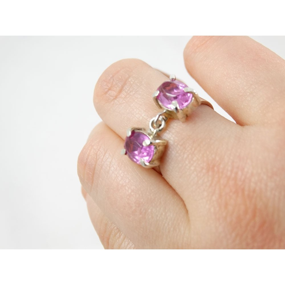 Sterling silver engagement ring TrueBlue