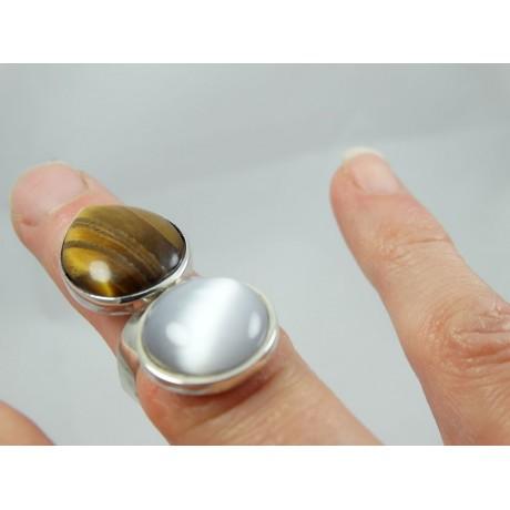 Sterling silver ring Love's Little Ways, Bijuterii de argint lucrate manual, handmade