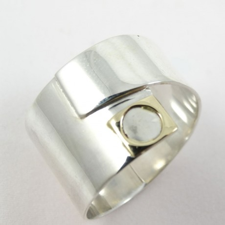 Sterling Silver ring LoveMate, Bijuterii de argint lucrate manual, handmade