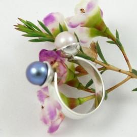 Sterling silver engagement ring Kindred Souls