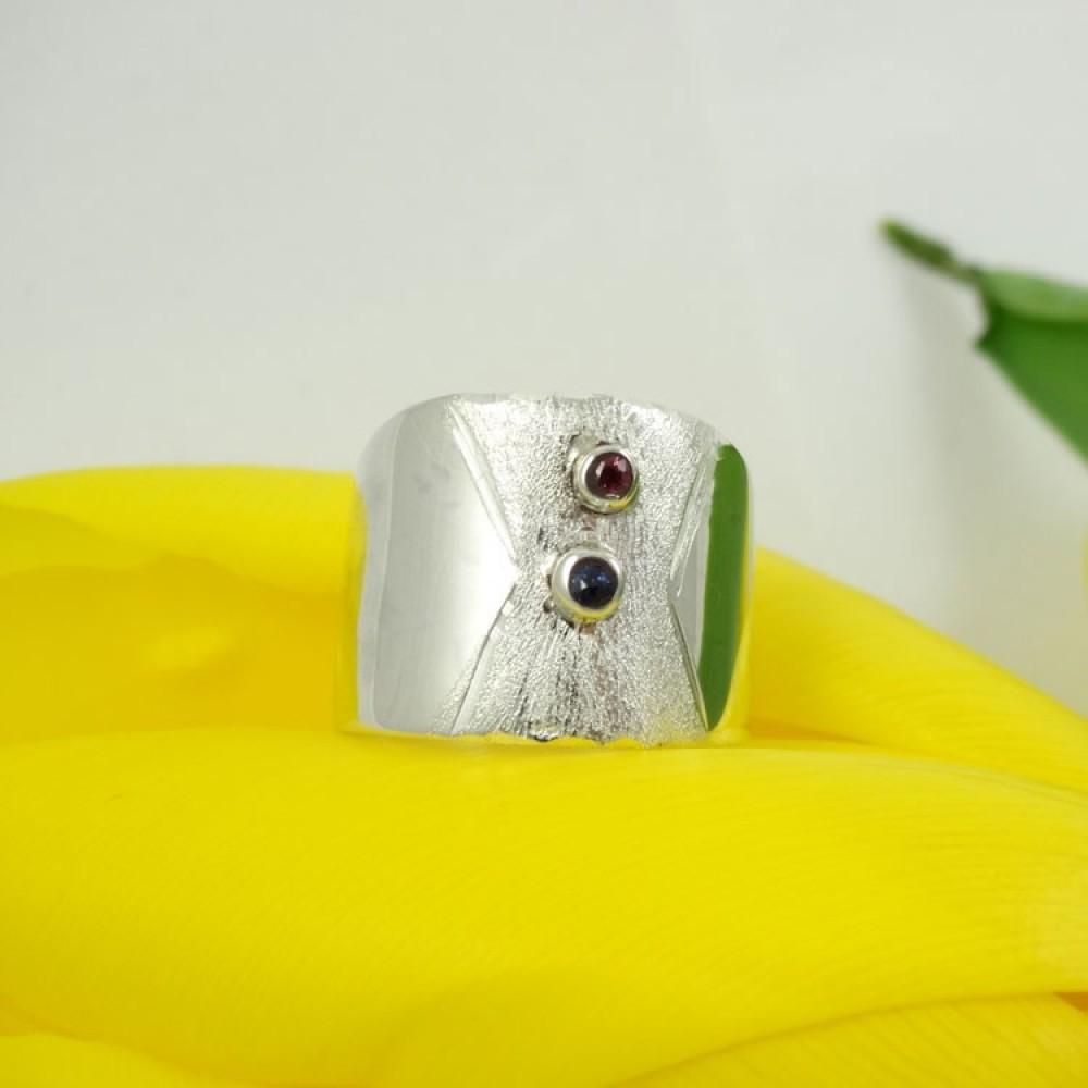 Sterling silver engagement ring Love's Little Spoils