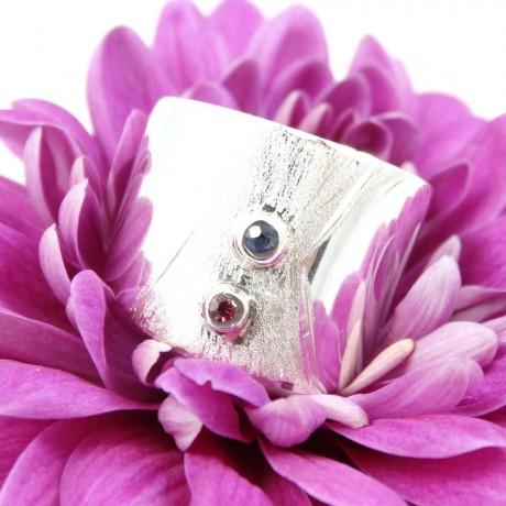 Sterling silver engagement ring Love's Little Spoils, Bijuterii de argint lucrate manual, handmade