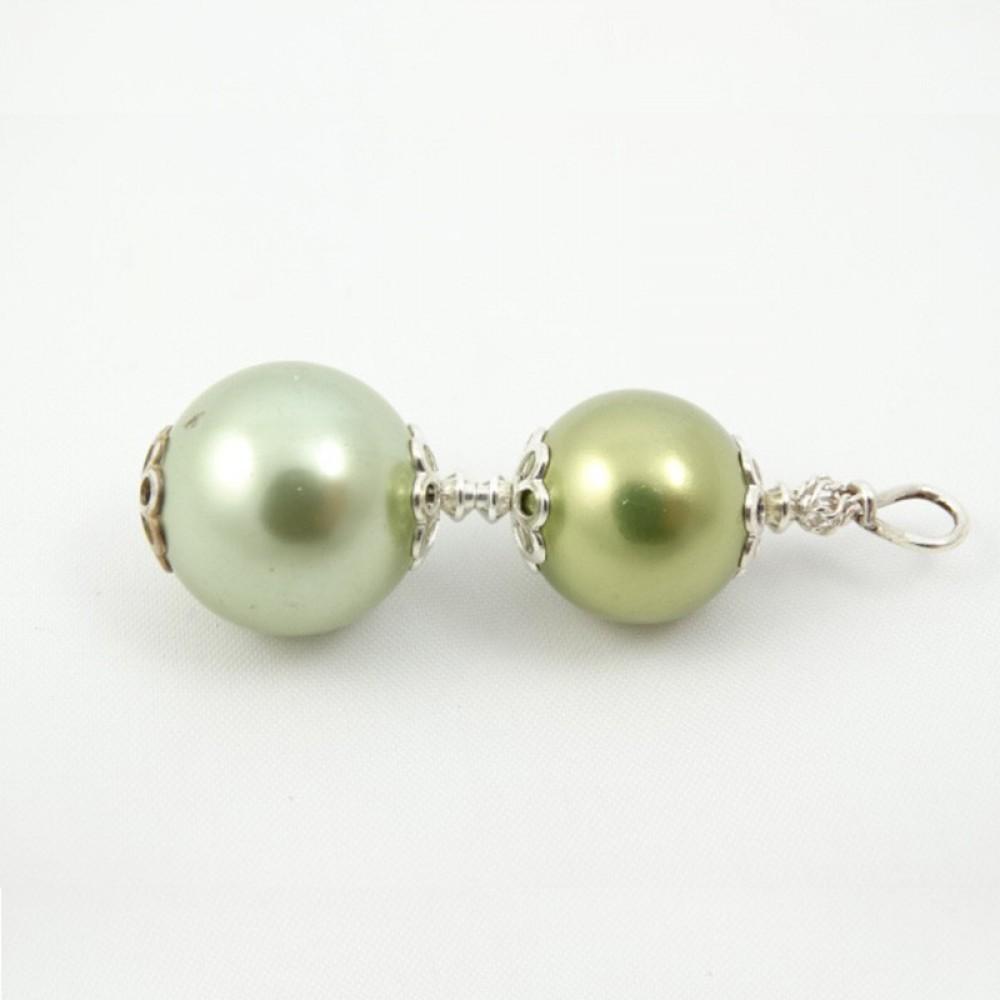 Sterling silver pendant Desire