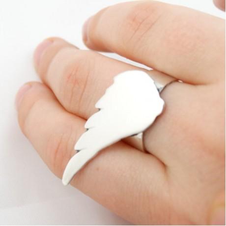 Sterling silver ring Love&More, Bijuterii de argint lucrate manual, handmade
